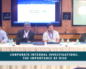 Round Table + Webinar : Corporate Internal Investigations: The Importance of Risk (June 06, 2019)