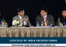 Seminar: Lifecycle of India Focused Funds (New York, July 12, 2016): Panel 4