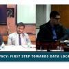Webinar: Digital Privacy: First Step Towards Data Localization (Apr 26, 2018)QnA