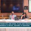 The Authorities are here: Plan and Prepare to handle a crisis, before it happens (June 27, 2018) Webinar