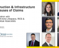 Construction & Infrastructure | Top Causes of Claims & Disputes, Promo (April 15, 2021)