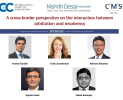 A cross-border perspective on the interaction between arbitration and insolvency (Nov 26, 2020)