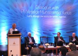 Dialogue With Prof. Muhammad Yunus: Part I