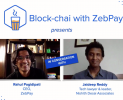 Block Chai with ZebPay Episode1 CEO Rahul Pagidipati in conversation with Tech lawyer Jaideep Reddy